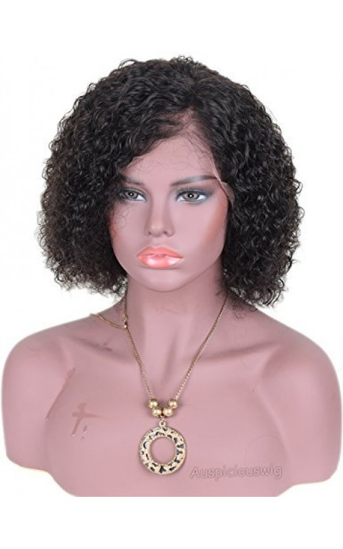 Auspiciouswig Curly Brazilian Hair Lace Front